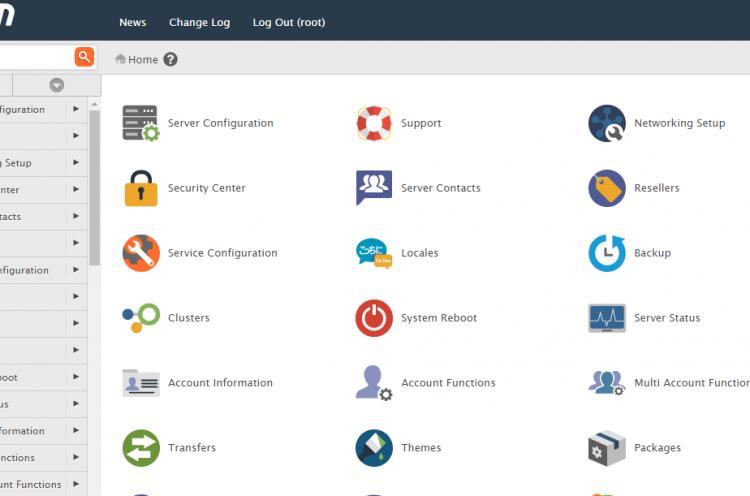 DNS server select cpanel linux dedicated servers hosting