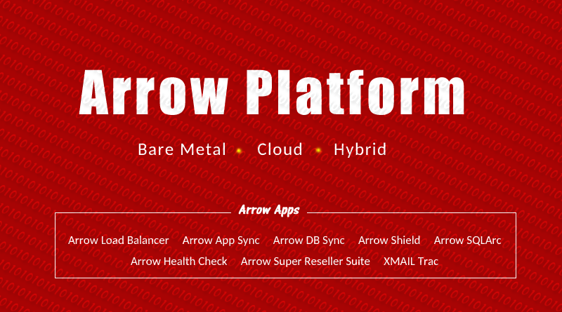 Arrow Platform for Dedicated Cloud Hybrid Hosting