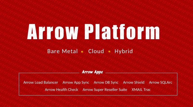 Arrow Platform for Dedicated Cloud Hybrid Hosting