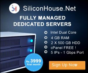 Dedicated Server Hosting India Promo 3999
