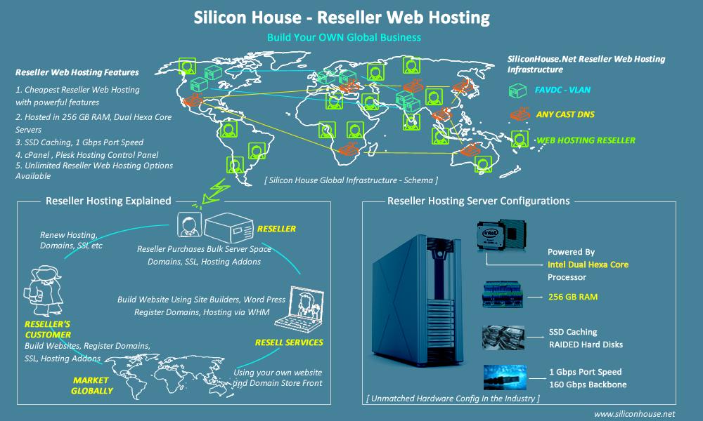 Reseller Hosting Infographics