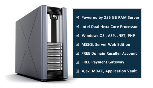 Windows Reseller Web Hosting Features India